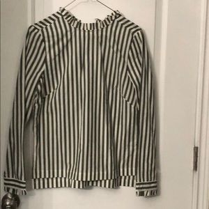 Long sleeve striped NEW shirt! SZ 4/Small